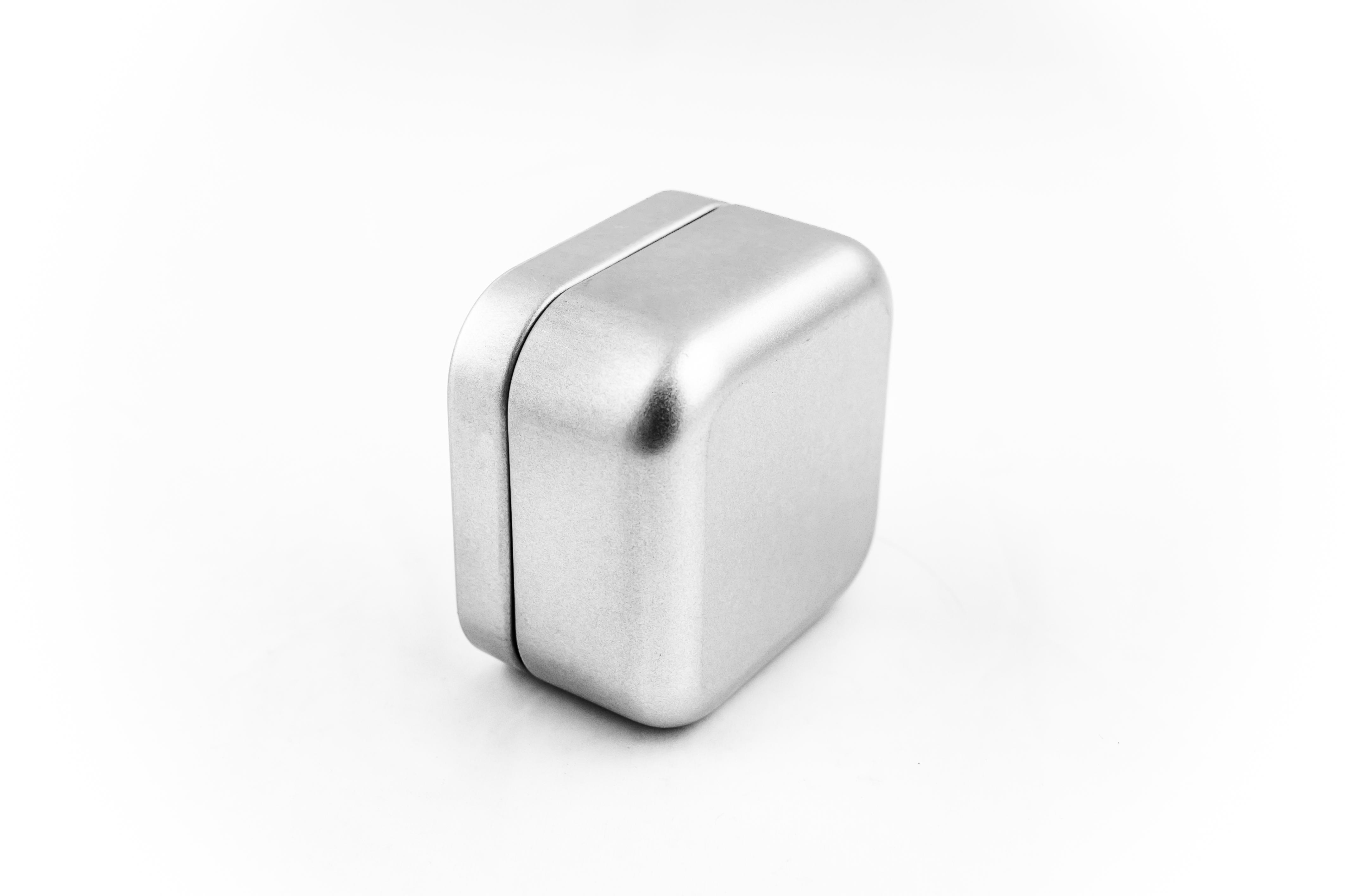 Gift tinbox, square - item 9013
