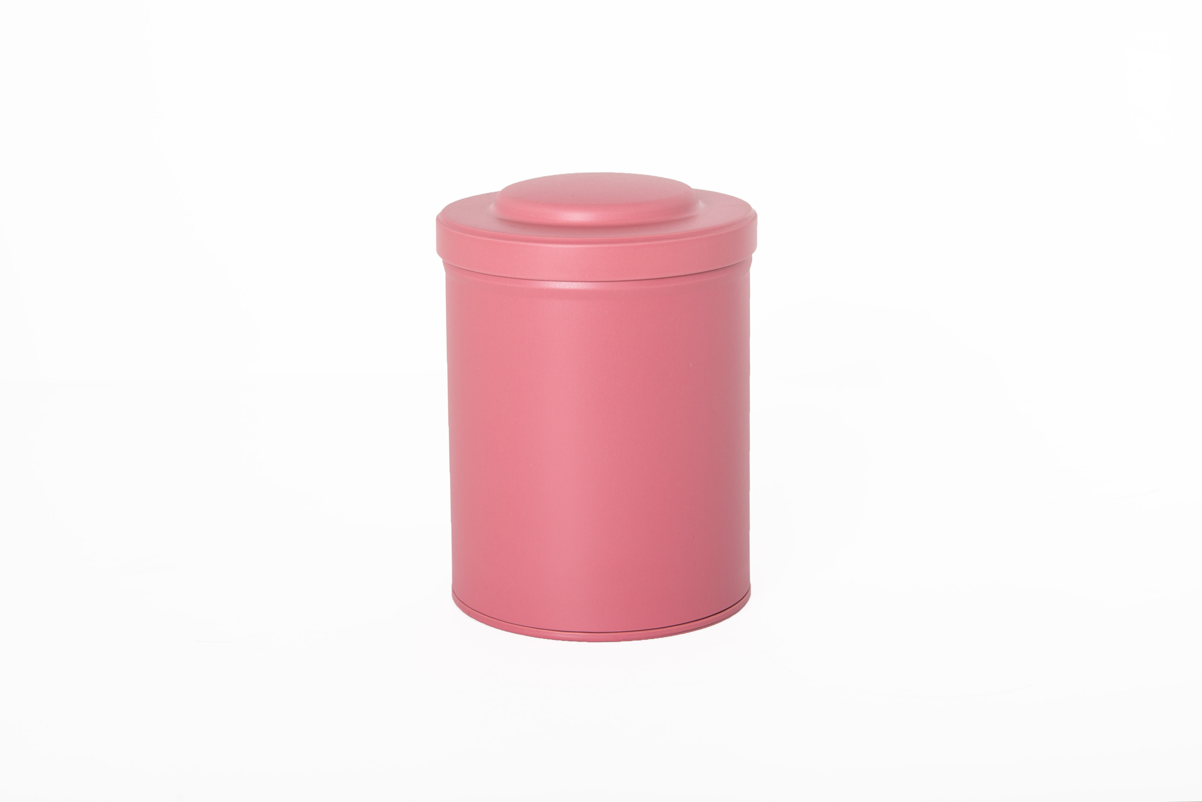 Spice - and tea tinbox with aroma seal - Pink