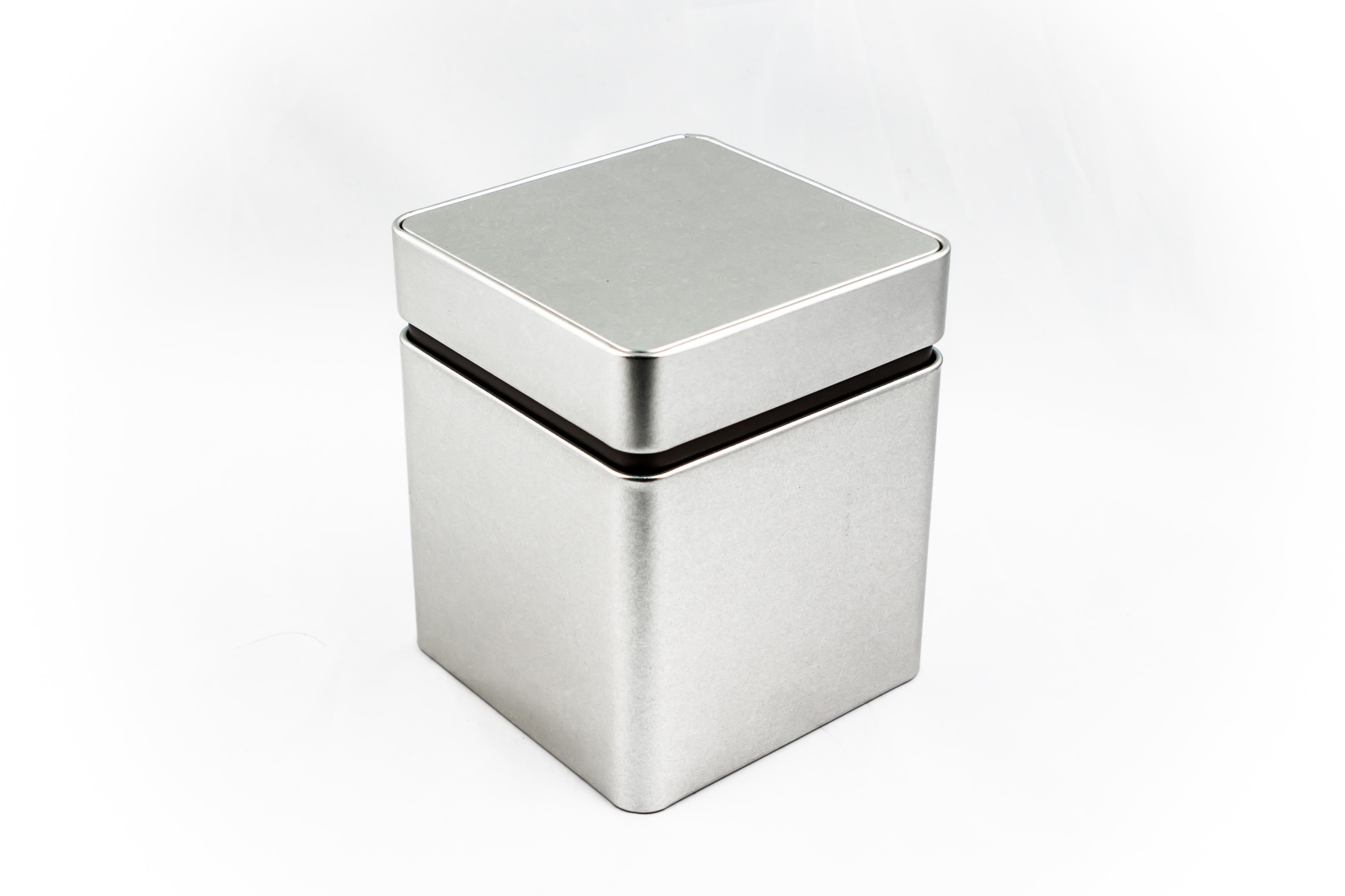 Storage tinbox, premium, large, sandblast material