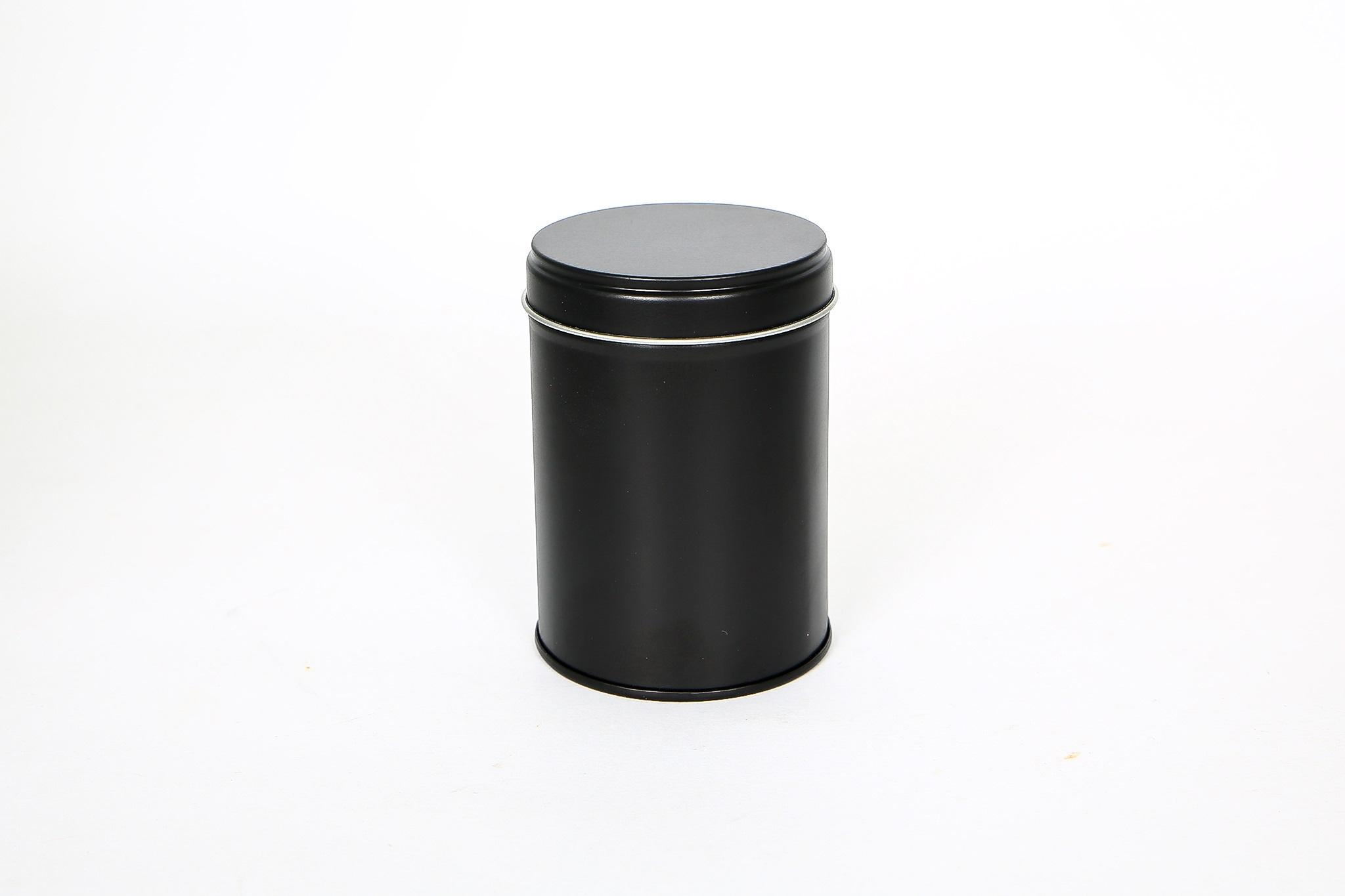 Runde Weißblechdose für Gewürze