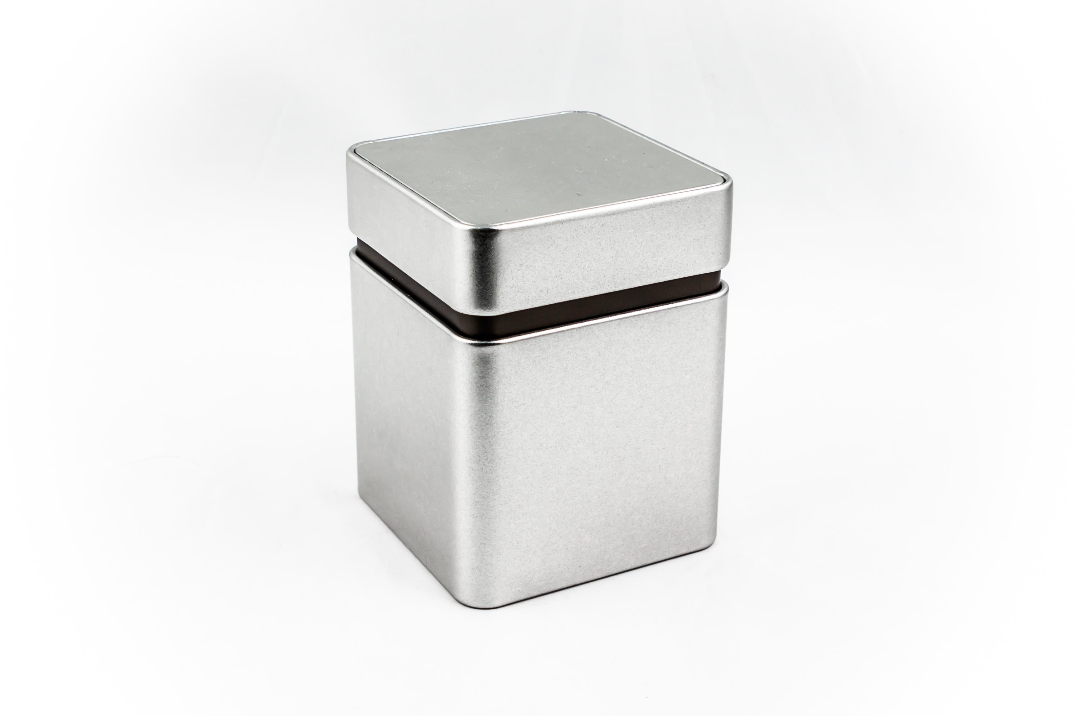 Storage tinbox, premium, small, sandblast material