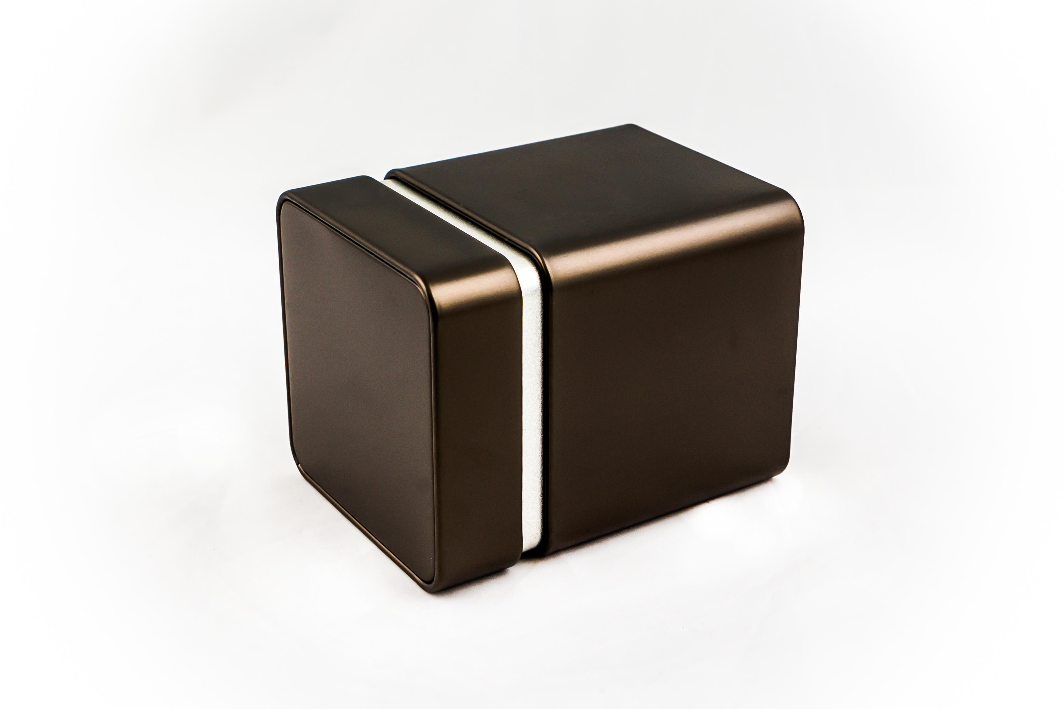 Storage tinbox, premium, small, printed