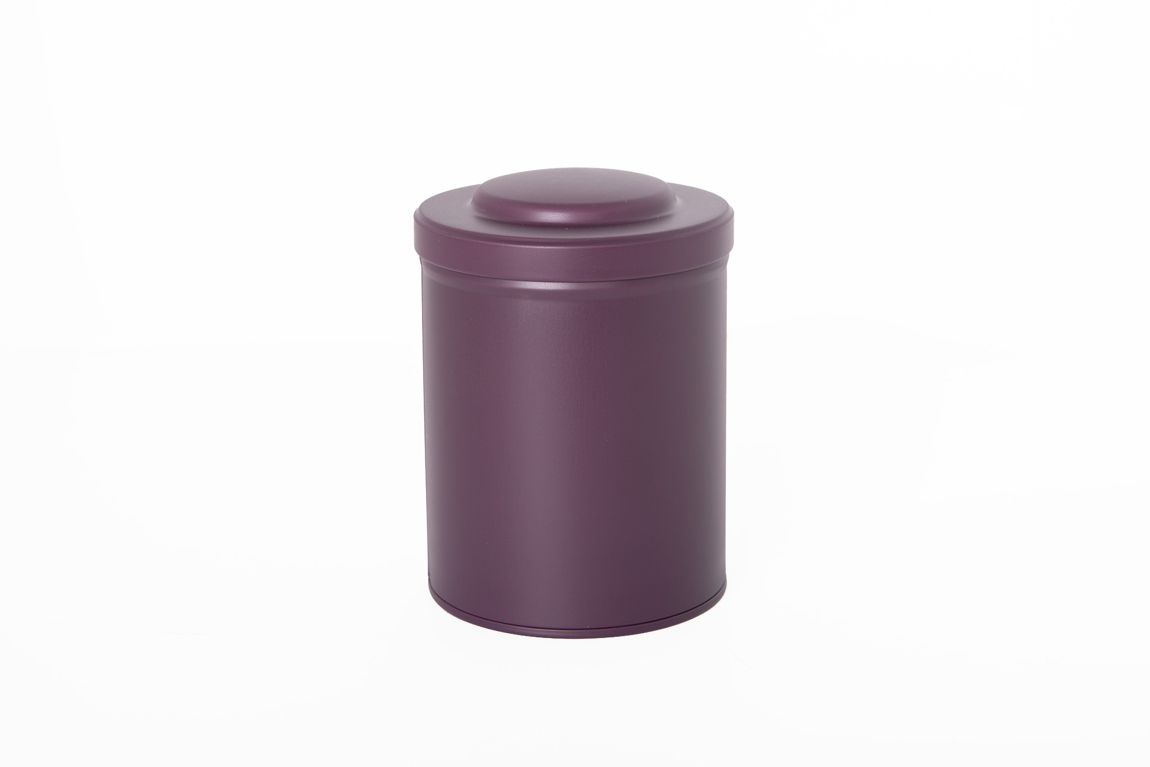 Spice - and tea tinbox with aroma seal - Purple
